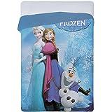 Trapunta Frozen Olaf Disney Principesse Singola Quilt una piazza N649