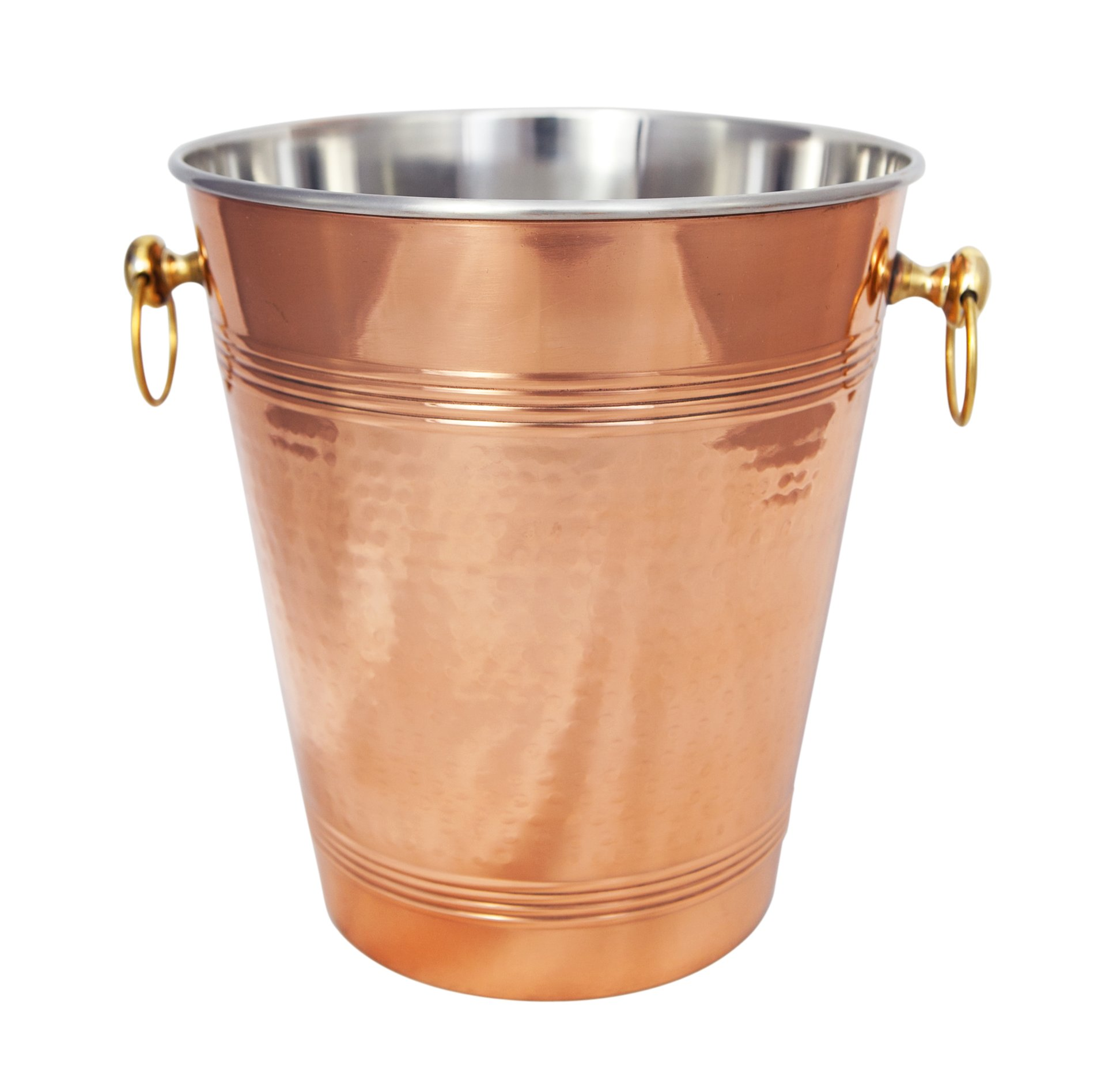 Premium Quality Hammered Copper Wine Chiller by Alchemade