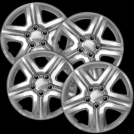 Amazon.com: OxGord Hub-caps for 10-14 Subaru Legacy (Pack of 4) Wheel Covers 16 inch Snap On Silver: Automotive