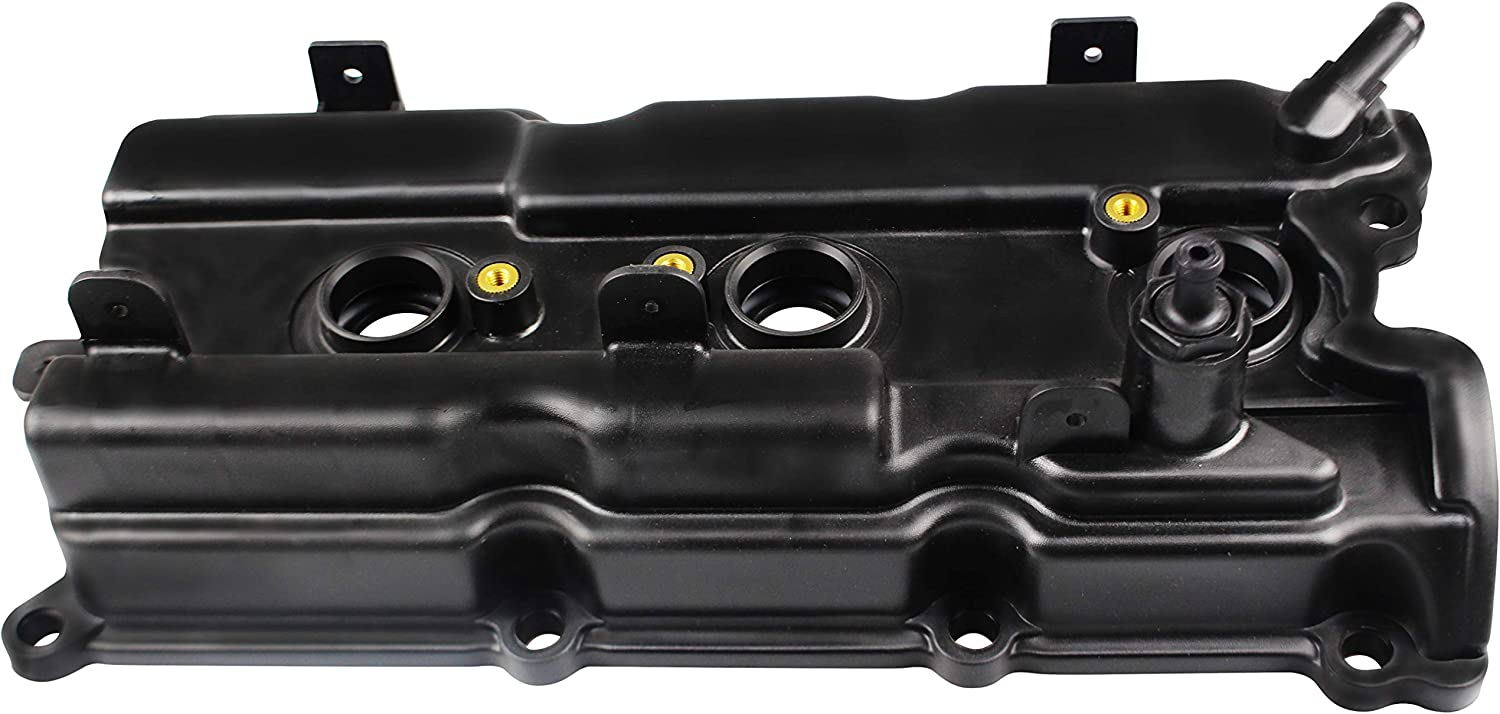 MYSMOT Valve Cover w//Gasket /& Spark Plug Tube Seals Fits Right Side Rear Of 3.5L Engine Bay 2002-2004 Infiniti I35 02-08 Maxima 03-07 Murano 02-06 Nissan Altima 04-09 Quest 132648J102