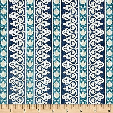 Timeless Treasures Santorini por Michele d amore azul rayas: Amazon.es: Juguetes y juegos