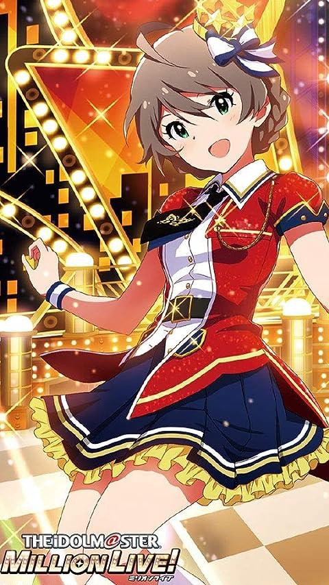 アイドルマスター 桜守歌織 XFVGA(480×854)壁紙画像