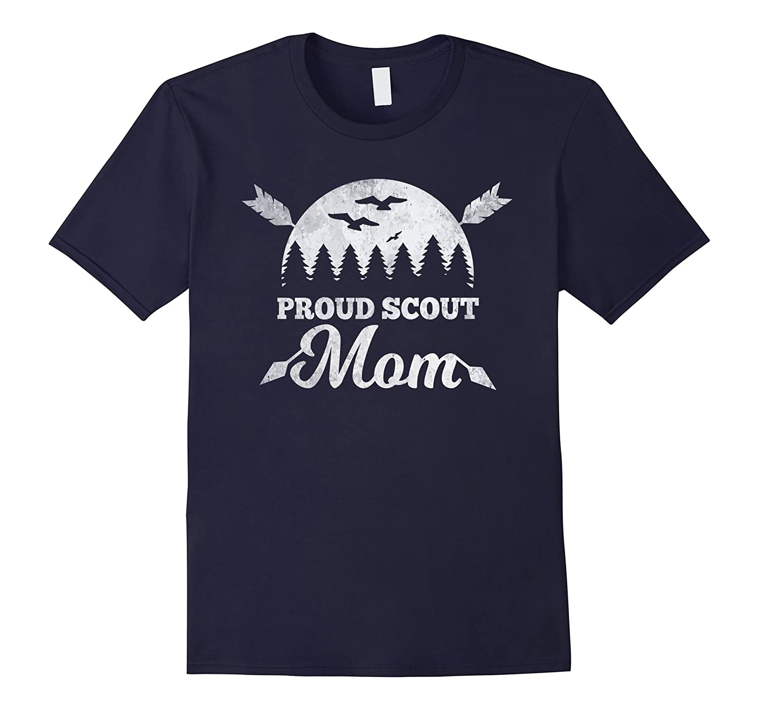 Scout Mom T-Shirt Proud Scout Mom Gift Shirt
