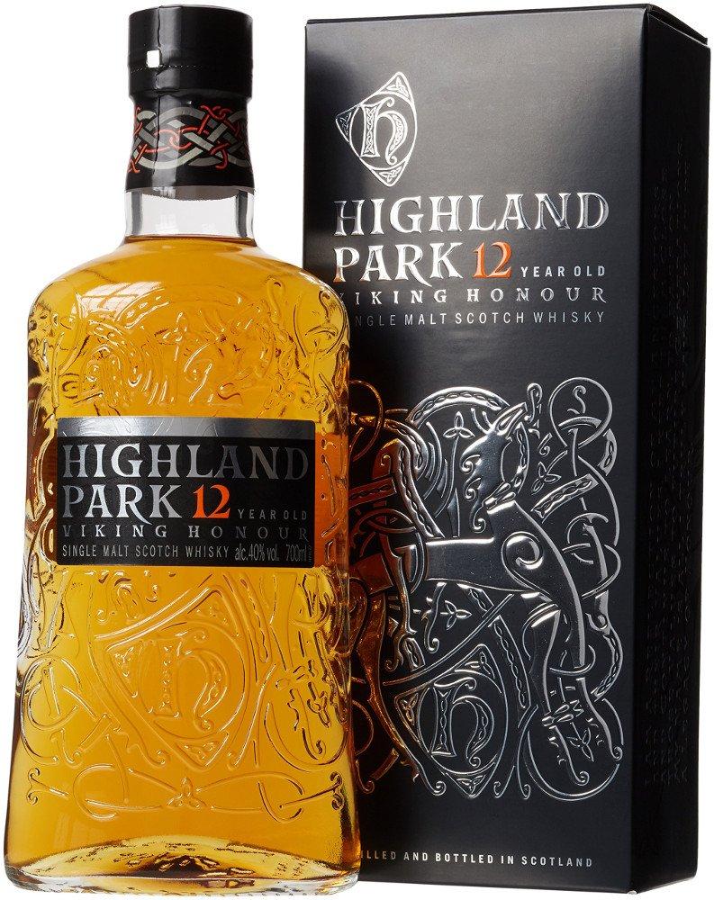 Highland Park Single Malt Scotch Whisky 12 Jahre (1 x 0.7 l): Amazon ...