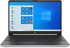 "HP 15-ef0875ms 15.6"" HD Touchscreen Laptop (AMD Ryzen 7, 12GB Ram, 256GB SSD, AMD Radeon RX Vega 10 Graphics) Windows 10 Home, Natural Silver"