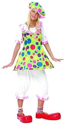 Disfraz Payaso Topos Adulta: Amazon.es: Ropa y accesorios