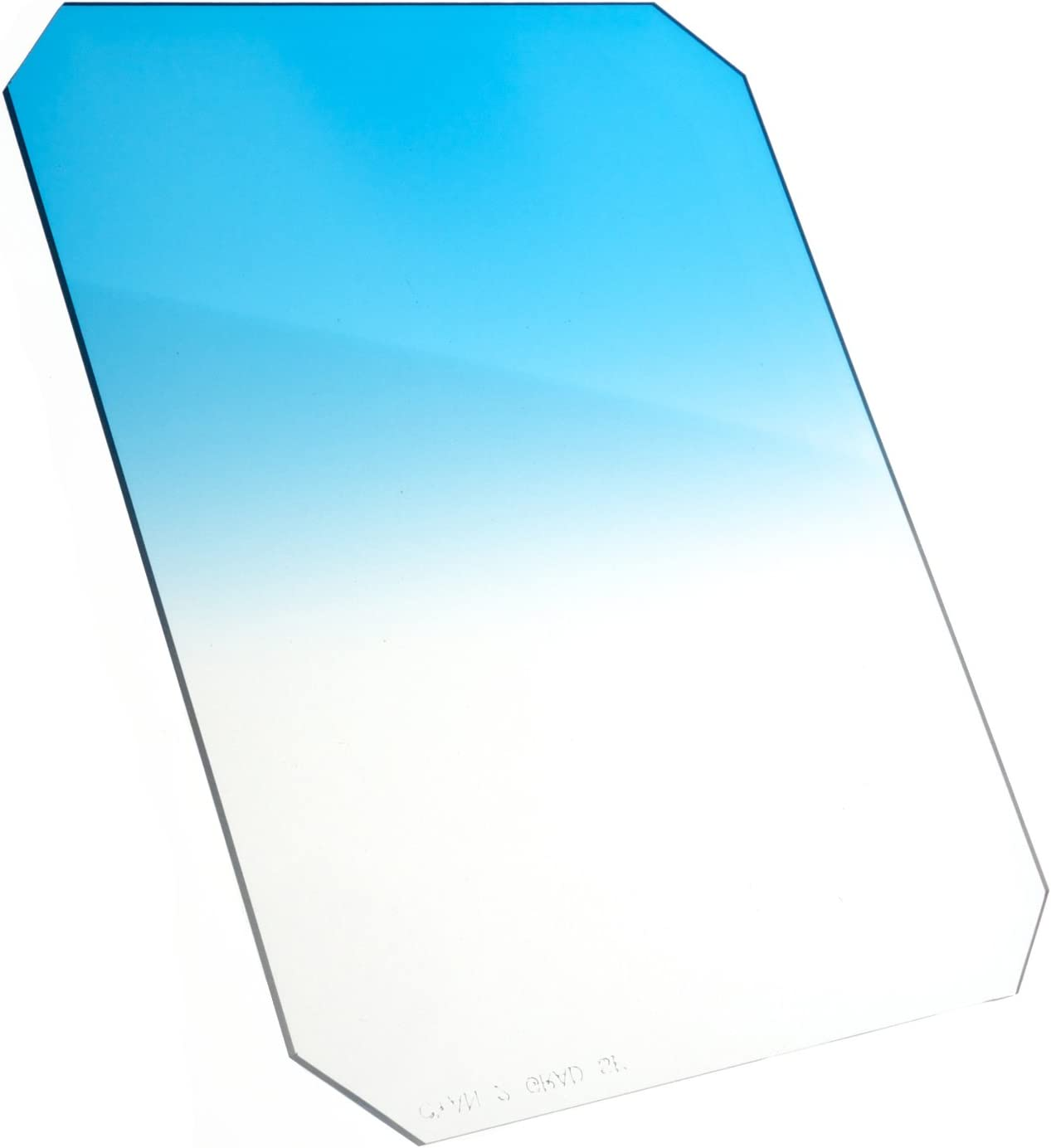 2.67x3.35 Resin Color Grad Soft Edge Cyan 1 Formatt-Hitech 67x85mm