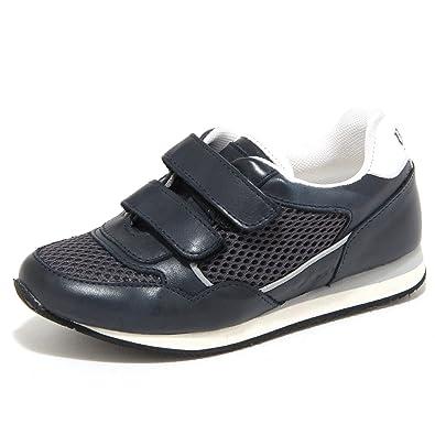 d86aec6a92a70 BOSS Hugo Boys  Trainers Blue Blue Blue Size  UK 3  Amazon.co.uk  Shoes    Bags