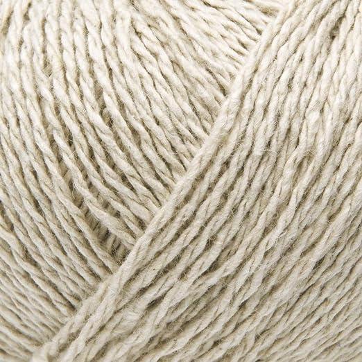 ggh Reva - 014 - Beige - Algodón reciclado para tejer y hacer ...