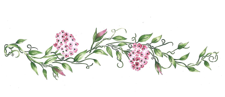 Amazon Com Designer Stencils Floral Vine Wall Stencil Sku 2815