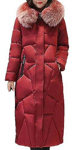 Scothen Señoras Abrigo de invierno Abrigo largo cálido Invierno Otoño Abajo Chaqueta Elegante Impermeable Parka invierno Con capucha Reducido Con capucha a prueba de viento Chaqueta con cordón Ropa