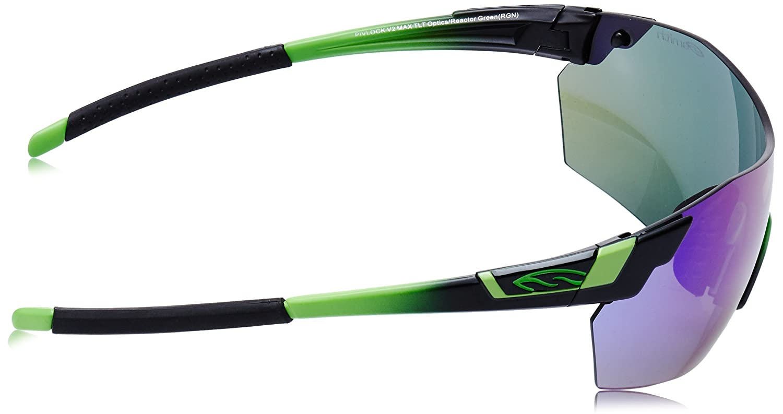 0193268f2d Amazon.com  Smith Optics Pivlock V2 Max Sunglass with Green Sol-X ...