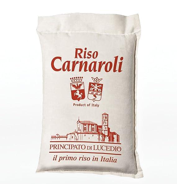 Carnaroli arroz - 1 kg - en bolsa de celofán con atmósfera ...