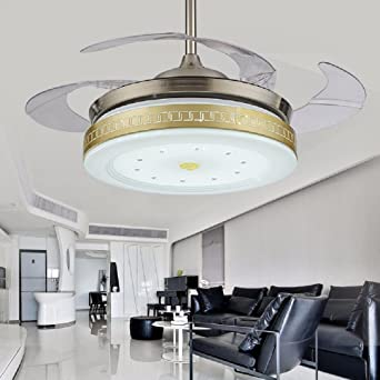 ZPSPZ Ventilador de Techo Led Moderno Simple Living Ventilador ...