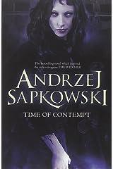 Time of Contempt (Witcher 2) by Andrzej Sapkowski (23-Jan-2014) Paperback Paperback