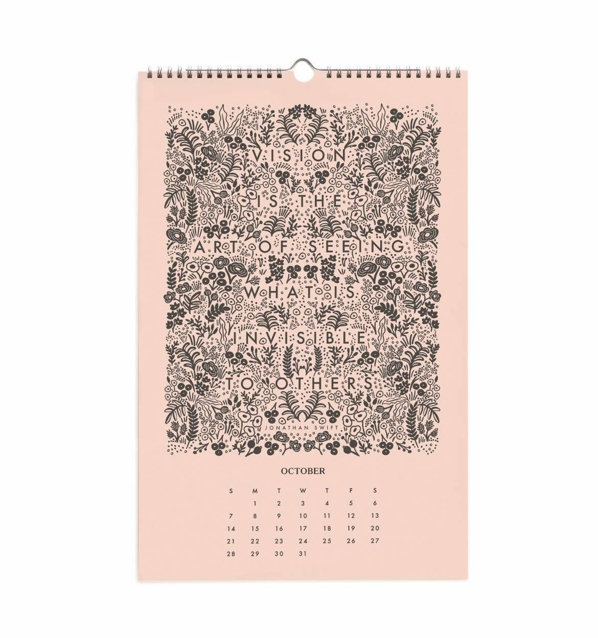 Rifle Paper - Calendario 2018 de citas inspiradoras: Amazon ...