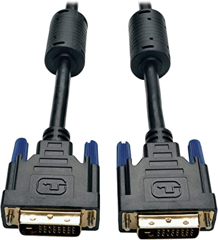 Integrated Digital//Analog Video Cable PC Mac HDTV 6-15Ft DVI-I Dual Link 24+5