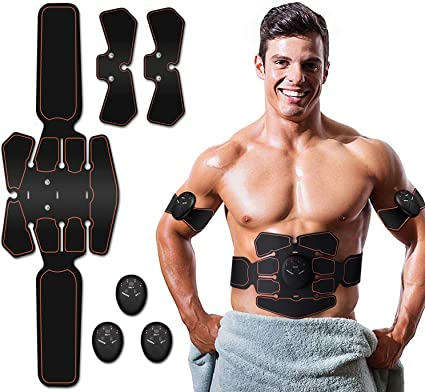 Multi-Function EMS Abdominal Muscle Fitness Equipment Lazy Loss Weight Exercise