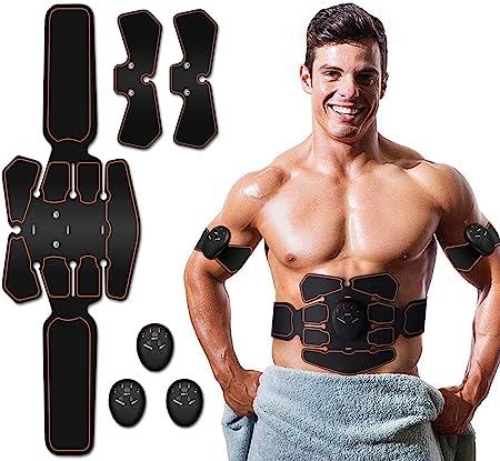 EMS Abs Abdominal Arm Stimulator Muscle Trainer Toner Toning Gel Pads Sticker UK
