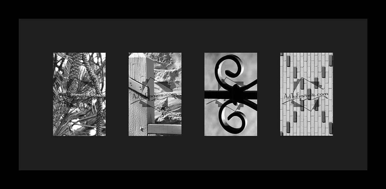 Amazon.de: Art An Rahmen letterart-alex-1343-89/89-frbw26079 ...