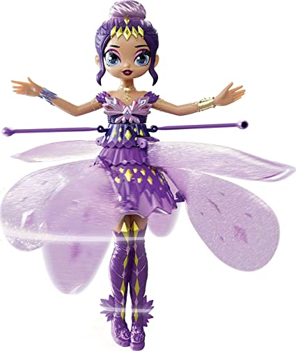 Hatchimals Pixies Crystal Flyers Purple Magical Flying Pixie Toy