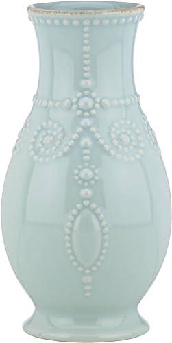 Lenox French Perle Ice Blue 8 Fluted Vase – 869509