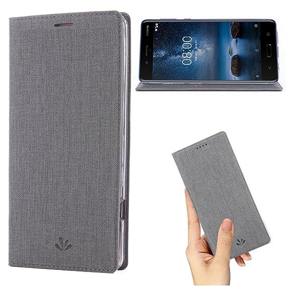 super popular b5a0f 2247e Amazon.com: Nokia 6 2018 Case,Nokia 6.1 Case,Premium Leather Wallet ...