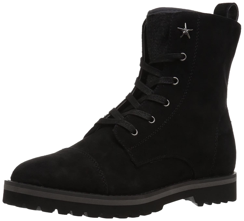 Tommy Hilfiger Women's Palmyr Combat Boot B06Y3JLHM5 8 B(M) US|Black