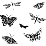 "Bible Journaling Stencil - Mariposas Butterflies (6"" X 6"") (TCW6X6-260)"
