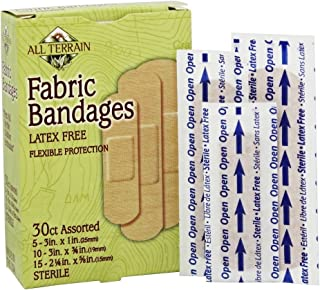product image for ALL TERRAIN BANDAGE,FABRIC,ASSORTED, 30 CT
