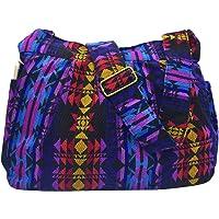 Casual Ladies Women Large Durable Fabric Cross Body Hobo Shoulder Messenger Bag Travel Purse Wallet Handbag Tote Bag (Multiple color)