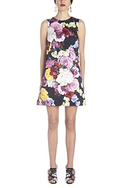 Dolce E Gabbana Vestito Donna F69B9THSMW5HNW86 Cotone Viola  Amazon.it   Abbigliamento 1699e32e75d