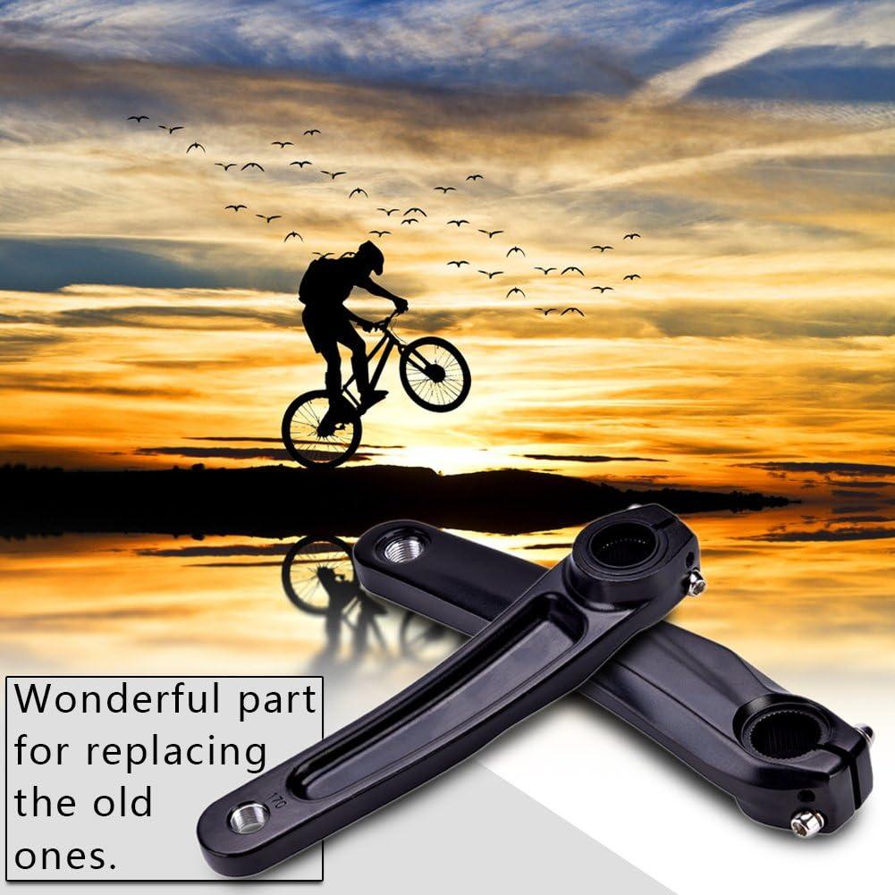 Brazo de manivela izquierdo brazo de manivela de bicicleta Accesorio de repuesto de aleaci/ón de aluminio para 590610 Juego de bielas SLX XT XTR para bicicleta de monta/ña Bicicleta de carretera