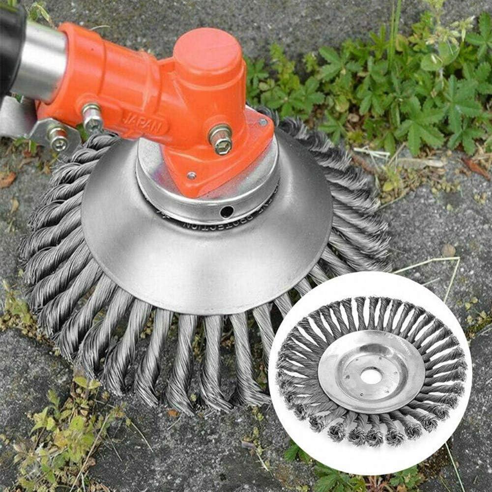 Wildkrautbürste 115 x 15 mm Motorsense Freischneider Unkrautbürste zB Husqvarna