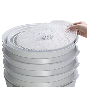 Set of 4, Presto Nonstick Mesh Screens for Presto Dehydro Food Dehydrator