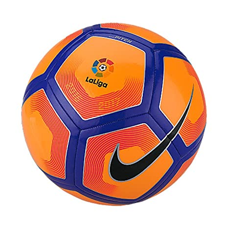 a3be12003 Amazon.com : Nike Pitch Liga BBVA Football (Orange) : Sports & Outdoors