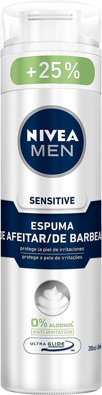 Nivea Men Sensitive Espuma de Afeitar - 250 ml