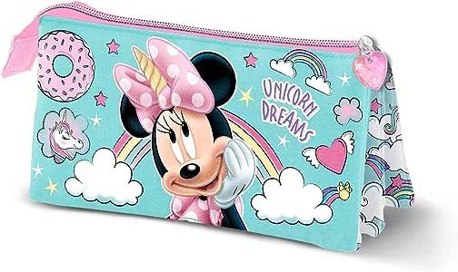 Karactermania Minnie Mouse Unicornio - Estuche Portatodo Triple, Multicolor: Amazon.es: Equipaje
