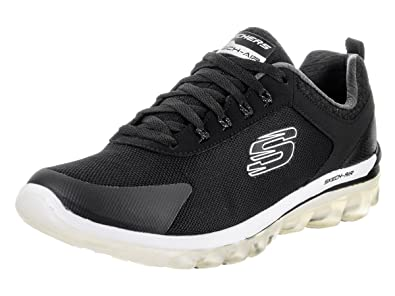 Skechers Skech-Air 2.0 Quick Times Men's Fitness Trainers black Skech Air,  shoe size