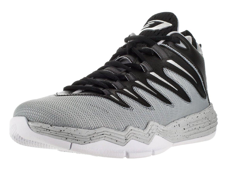Jordan Nike Men's CP3.IX Blck/Mtllc Slvr/WLF Gry/PR PLT Basketball Shoe 9 Men US