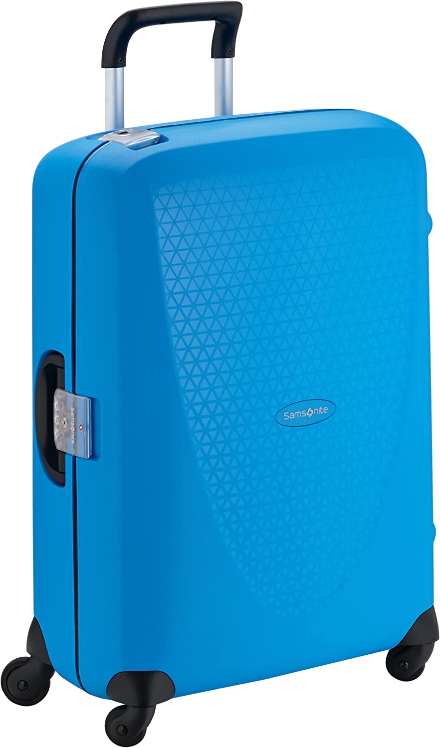 Samsonite Termo Young Spinner M Maleta, 70 cm, 69 L, Azul (Electric Blue)