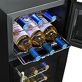 NewAir AW-210ED Streamline 21 Bottle Dual Zone