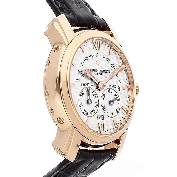 Amazon.com: Vacheron Constantin 31-Day Retrograde Perpetual Calendar Mechanical (Automatic) Silver Dial Mens Watch 47031/000R-8955 (Certified Pre-Owned): ...