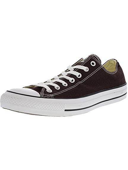 new product f9791 b3f41 Converse Chuck Taylor All Star Seasonal Ox Burnt Umber Ankle-High Fashion  Sneaker - 14M
