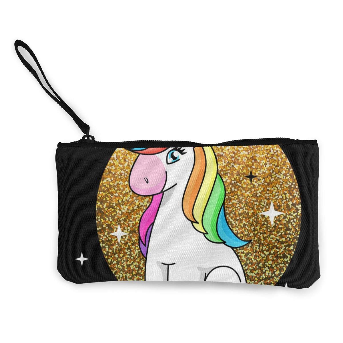 Yamini Fantasy Animal Horse Unicorn On Sparkle Cute Looking Coin Purse Small and Exquisite Going Out to Carry Purse