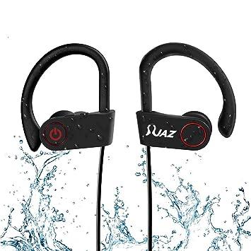 Resistente al agua Bluetooth auriculares deportivos – JAZ (2017 Nuevo diseño) inalámbrico auriculares deportivos