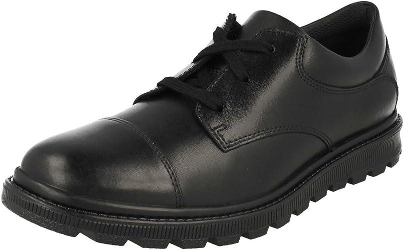 Boys Bootleg By Clarks School Shoes /'Mayes Trek/'