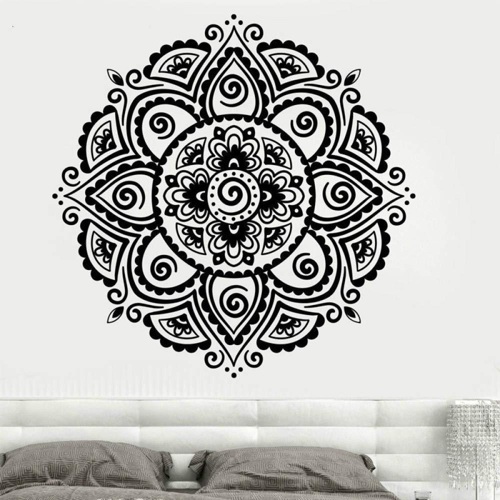 Lotus Vinyl Sticker Flower Mandala Applique Bohemian Mandala ...