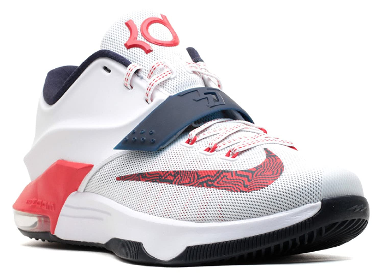 size 40 1394b fd377 Amazon.com | Nike KD 7 'USA' - 653996-146 | Basketball