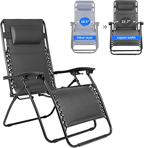 Homall Oversized Zero Gravity XL Padded Lounge Chair